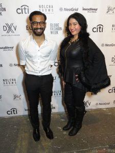 Your Blogger/Journalist Rachel Ulloa with designer Rohitava Banerjee. Until next time Rachel Ulloa Is On The Go.